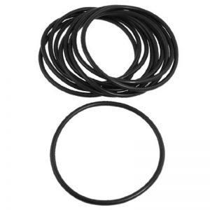 10pièces 110mm x 5mm noir caoutchouc nitrile O Ring NBR Joint d'étanchéité de la marque sourcing-map image 0 produit