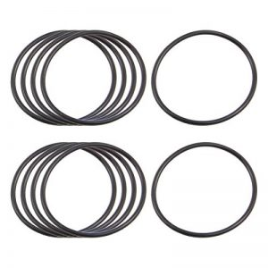 10x Noir caoutchouc nitrile O Ring Œillets Joint d'étanchéité 36mm x 40mm x 2mm de la marque sourcing-map image 0 produit