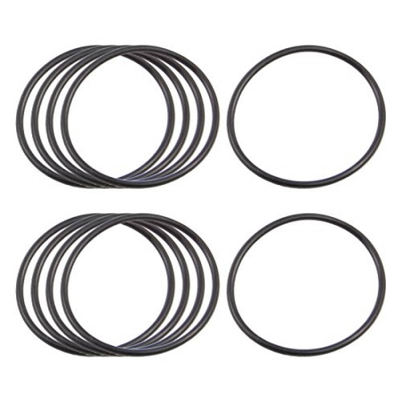 50 x Noir 15 mm OD 2.5 mm épaisseur en caoutchouc nitrile O-Ring OIL SEAL Joints