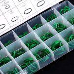 270 Pièces Coffret de Joints Toriques, Keenso 18 Tailles O-ring Joints Assortiment en Caoutchouc Réparation de Véhicule Climatisation Outils HNBR Vert de la marque Keenso image 3 produit