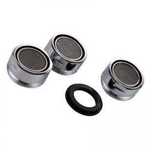 3 pièces Filtre à robinet d'économie d'eau accessoires robinet Diffuseur Filtre de Robinet avec joint d'étanchéité Pour cuisine et salle de bain de la marque VABNEER image 0 produit