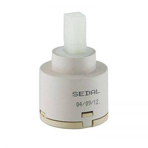 'KES Cartouche de poignée simple robinet de rechange valve à disques en céramique Sedal, fabriquée en Europe de la marque Kes image 0 produit