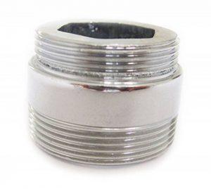 Adaptateur métallique solide pour la cuisine d'économie d'eau robinet robinet aérateur 22mm à 24mm de la marque plumbing4home image 0 produit