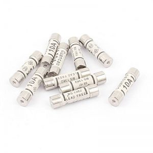 Aexit 10pcs faible capacité de coupure 6x25mm cartouche céramique fusibles AC 250V 10A IT662894R425479P de la marque Aexit image 0 produit