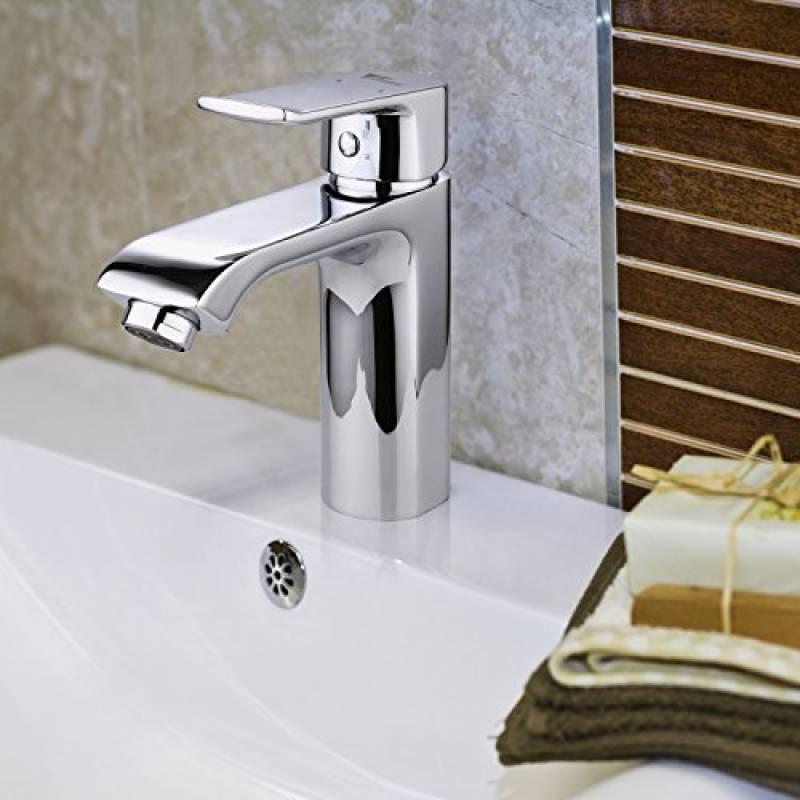Hiendure Robinet cascade monocommande pour la selle de bain