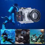 Andoer SY-15 40m / 130ft Etanche Caméra Boîtier Sous-Marin Transparent pour Sony RX100 III de la marque Andoer image 4 produit