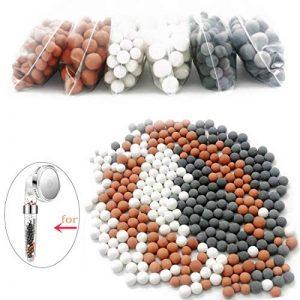 Anti Calcaire pour Douche, Billes ions Négatifs pour Pommeau de douchette (adoucisseur d eau, filtre à spa) de la marque Swhily image 0 produit