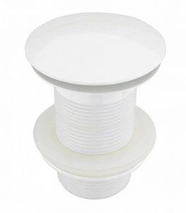 Atco® PU23pop-up Valve Valve de vidage lavabo bonde excentrique Clic Siphon sans trop-plein Blanc de la marque ATCO image 0 produit