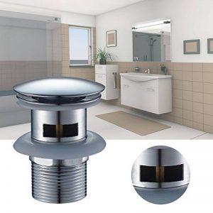 AuraLum Bonde de de lavabo en forme de rond pour lavabo Pop Up avec trop-plein de la marque AuraLum image 0 produit