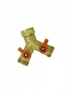 Boutté YR20 Nez de robinet y selecteur 2 sorties vannes male 20x27 Or de la marque Boutté image 0 produit