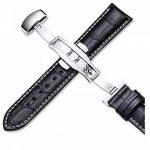 Bracelet Montre Cuir Homme Femme Bande Remplacement Boucle pour Montre -16mm 17mm 18mm 19mm 20mm 21mm 22mm de la marque Grsafety image 1 produit