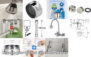 Bidet Nettoyeur de Toilettes Assis avec Dual Nozzle Pression deau Ajustable Self Cleaning Blanc