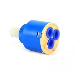Cartouche céramique pour robinet(2pcs) - Remplacement pour le robinet à une poignée, réparation de valve(35mm) de la marque Aramox image 0 produit