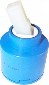 Cartouche/valve/disque de rechange en céramique pour robinet mélangeur de cuisine/salle de bain, 40 mm de la marque GTDE image 0 produit