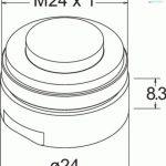 Deva fr SP 113–1.7Réducteur de débit pour lavabo monobloc et robinet mitigeur 1,7L/minute Chromé de la marque Deva image 1 produit