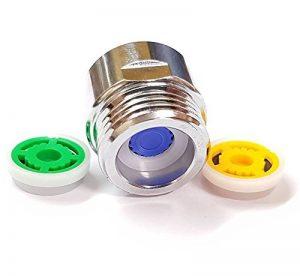 Douche limiteur de réducteur de débit réglé - jusqu'à 70% d'économie d'eau 4 l / min de la marque plumbing4home image 0 produit