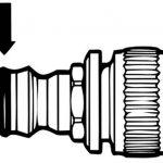 Gardena TEC380007 Joint torique pour système 2 pièces, Multicolore de la marque Gardena image 2 produit