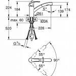 GROHE Mitigeur évier avec douchette extractible Eurosmart 30305000 (Import Allemagne) de la marque GROHE image 1 produit