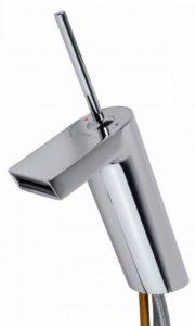 Hansa 57092201Mitigeur pour lavabo Hansastela, montage monotrou, DN 15 (diamètre nominal 15 mm) Chromé de la marque Hansa image 0 produit