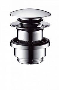 Hansgrohe - 50100000 - Bonde de vidage pour lavabo de salle de bain Push Open Clic-clac en métal Chromé de la marque Hansgrohe image 0 produit