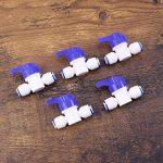 Hemobllo 5pcs tube vanne à boisseau sphérique pour filtres à eau purificateurs d'eau systèmes d'osmose inverse de la marque Hemobllo image 2 produit
