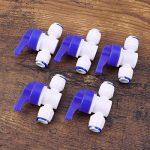 Hemobllo 5pcs tube vanne à boisseau sphérique pour filtres à eau purificateurs d'eau systèmes d'osmose inverse de la marque Hemobllo image 4 produit