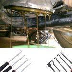 Huile d'étanchéité de tournevis , Qisf 9pcs Crochet Pick & Grattoir kit Huile Joint Extracteur retrait Joint torique et Seal Remover Outil pour réparation automobile de la marque QISF image 4 produit