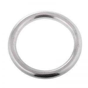 Joint torique lisse en acier inoxydable soudé anneaux ronds de la marque FHelectronic image 0 produit