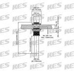 KES Bonde de Lavabo avec Trop Plein Salle de Bain Pop up Bonde de Vidage Universal Laiton Bronze Huilé, S2007A-7 de la marque Kes image 1 produit