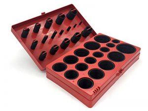 Kit de 419 joints toriques - Diamètre de 3à 50mm - Bagues d'étanchéité - En caoutchouc de la marque Handwerkszeug image 0 produit
