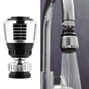 KOBWA Filtre aérateur pivotant à 360° pour robinet, pour économies d'eau, pour la salle de bain et la cuisine de la marque KOBWA image 0 produit