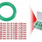 KS TOOLS 970.0340 Assortiment de joints toriques pour climatisation HNBR, 270 pcs de la marque KS-Tools image 1 produit