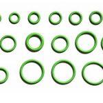MINGZE 270 pcs Kit d'assortiment de joints toriques, Jeu d'outils hydrauliques en caoutchouc vert pneumatique d'air, 18 Tailles pour Isolation Joint Rondelles Joints Climatisation Auto de la marque MINGZE image 2 produit