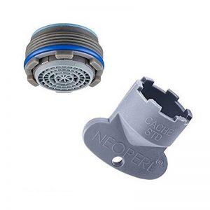 Neoperl Aérateur dissimulé pour robinet avec clé 24x 1mousseur, filtre cascade caché de la marque Neoperl image 0 produit