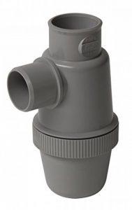 Nicoll 71640 Siphon lavabo Vert d32 yfc, Gris de la marque Nicoll image 0 produit