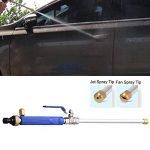 OSAYES 49cm Lance haute pression, Rondelle de Voiture Jet d'eau Haute Pression d'alimentation Rondelle Buse de pulvérisation d'arrosage Pistolet de la marque OSAYES image 2 produit