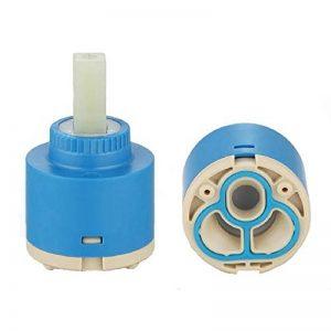 ownace Disques en céramique 35mm/40mm en plastique bassin de bain de douche robinet mitigeur à levier intérieur Cartouche, Céramique, 40mm de la marque Ownace image 0 produit