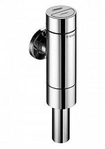 """Schell T627801Robinet de chasse d'eau 374""""pour WC Schellomat Silent Eco, métal massif et laiton Robuste Double touche, Diamètre 48mm, 204mm, 1pièce, chromé, SCH022490699 de la marque Schell image 0 produit"""