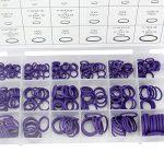 SENZEAL Coffret de 270 O Joint Torique Caoutchouc Anneaux d'étanchéité avec Double Tête Valve Core Tire (Violet) de la marque SENZEAL image 1 produit