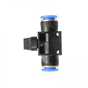 Sharplace Connecteur Vanne à Boisseau Sphérique Pneumatique Raccord Poussoir Tube Tuyau Air Et Eau - 10mm de la marque Sharplace image 0 produit