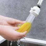 Tête mobile et intelligente ajustable pour robinet - Embout à économie d'eau, anti-éclaboussures, avec filtre, aérateur, diffuseur, pour cuisine et salle de bain de la marque JRong image 4 produit