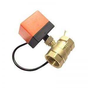 Uokoki Brass Control Valve Boule électrique Fil électrique Stable motorisé Vanne à Boisseau sphérique AC220V DC12V / 24V 3 Fils de la marque Uokoki image 0 produit