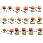 Uokoki Brass Control Valve Boule électrique Fil électrique Stable motorisé Vanne à Boisseau sphérique AC220V DC12V / 24V 3 Fils de la marque Uokoki image 2 produit