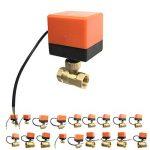 Uokoki Brass Control Valve Boule électrique Fil électrique Stable motorisé Vanne à Boisseau sphérique AC220V DC12V / 24V 3 Fils de la marque Uokoki image 4 produit