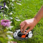 Vanne d'arrêt de GARDENA: régulation ou coupure des arroseurs individuels ou de groupes d'arroseurs, installation souterraine, couvercle sphérique escamotable, filtre amovible (2724-20) de la marque Gardena image 3 produit