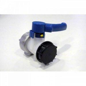 Vanne papillon 2 pouces avec écrou de 70mm pour cuve ibc 1000 litres de la marque Multitanks image 0 produit