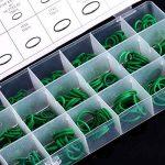 Yosoo 270 pcs Joint Torique Assortiment kit Air conditionné HNBR Joint torique pour Voiture Auto Véhicule Robinet Réparation, Couleur Vert 18 Tailles de la marque Yosoo image 4 produit